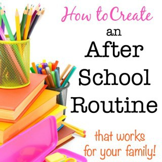 How to Create an After School Routine