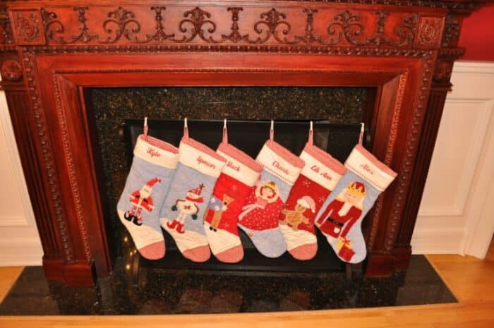 Holiday Traditions What Do You Do With Your Christmas Stockings Momof6