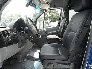 sprinter drivers seat 300x225 Sharons Favorite Things......  The right car for a large sized family!