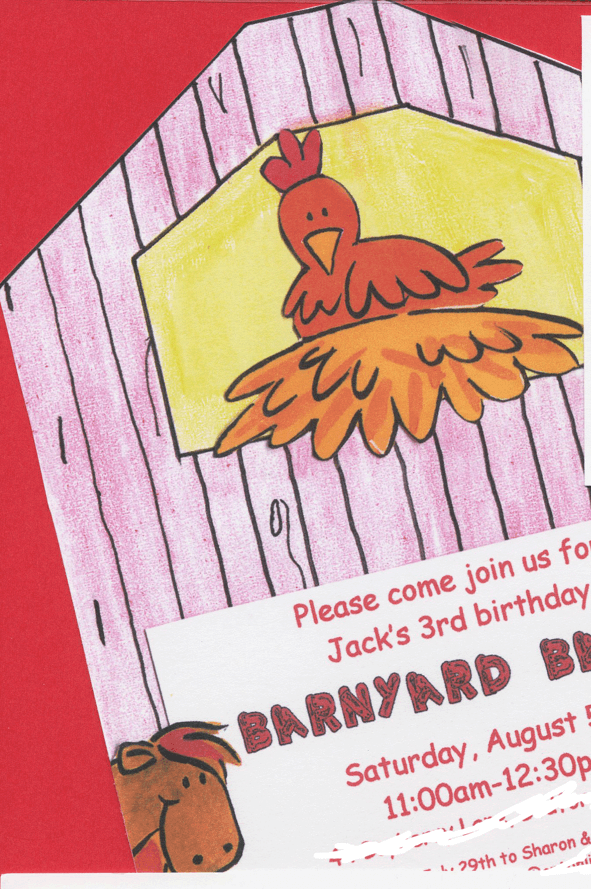 Great 3 Year Old Birthday Party Idea: A Barnyard Bash!
