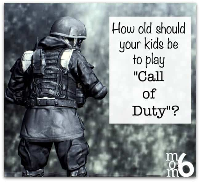 A parenting dilemma: How old should your kids be to play Call of Duty?
