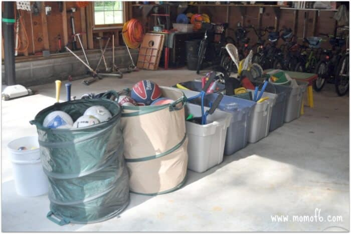 Summer Camp At Home-  Setting Up the Garage for Maximum Fun!