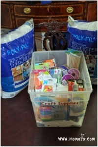 Organize Craft Supplies Momof6 200x300 Summer Camp at Home  Final Set up Tips & Creating a Gratitude Wall