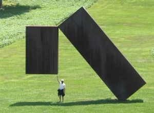 Storm King Origamidon on Flicr 300x221 Visit an Outdoor Sculpture Garden
