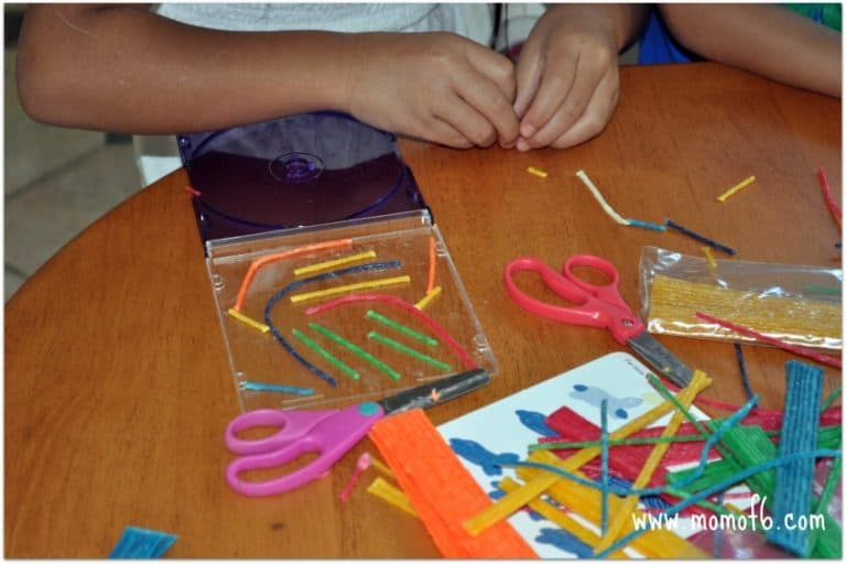 Great Summer Craft for the Kids… CD Labyrinths!