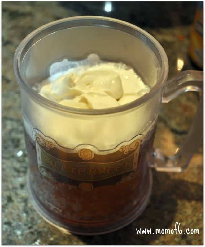Momof6 Butterbeer3 Cooking with the Kids: Butterbeer!