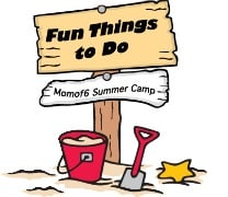 Summer Camp at Home Fun Things to Do