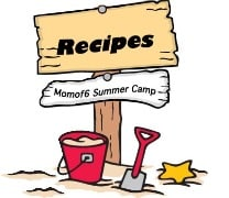 Summer Camp at Home Recipes
