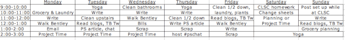 Work Schedule Momof6 My Best Organizational Tip: A Weekly Planning Ritual
