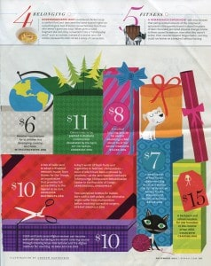 Oprah Dec 2011 Spend a Little Give a Lot Page 2 238x300 Confessions of a Giving Back Under Achiever...