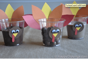 Turkey Cups Happy Clippings 300x204 Links to Love: A Thanksgiving Edition... and a call to join the iVillage Get Organized for the Holidays Challenge!
