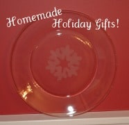 Post image for Homemade Holiday Gift: Glass-Etched Plates!