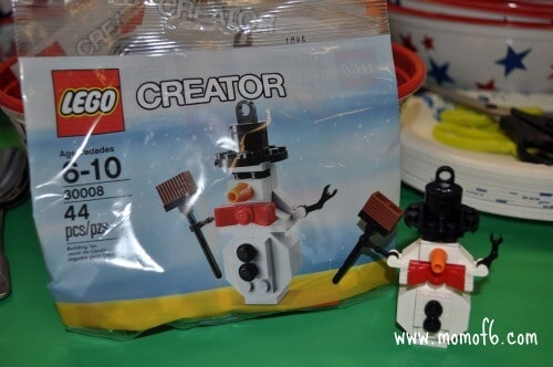Lego paty craft A Lego Birthday Party!