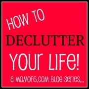 Post image for The Declutter Your Life Challenge: Working Towards An Organized Basement!