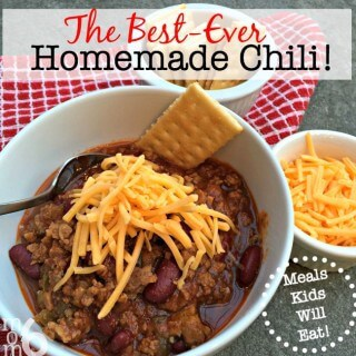 The Best-Ever Homemade Chili!