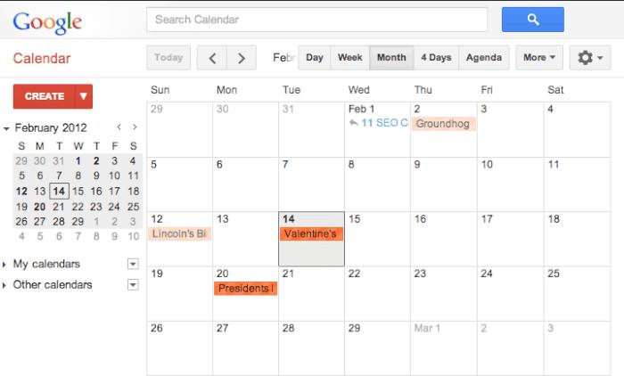 Google calendar The 6 Best Family Calendars!