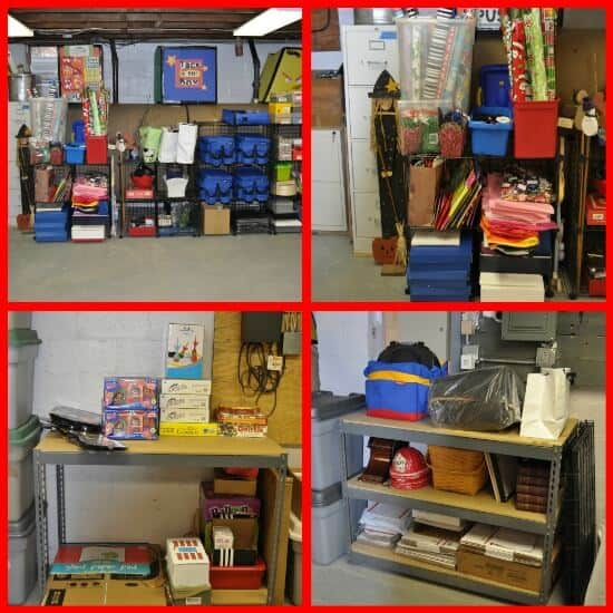 Organized by categories Declutter your Life: The Big Basement Challenge... and REVEAL!