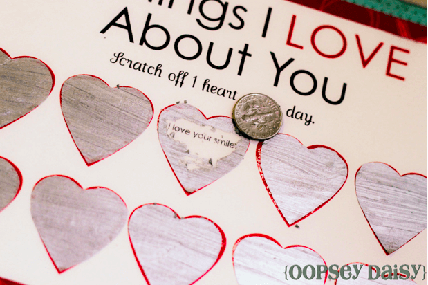 Scratch off cards by oopsey daisy Links to Love: A Valentines Day Edition!