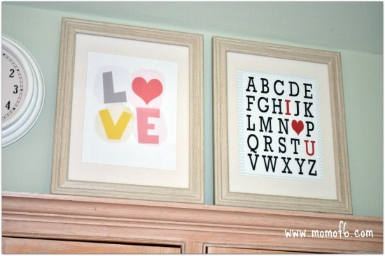 The 8 Best Subway Art Printables for Valentine's Day!