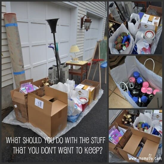 The Basement Project What to do with the stuff that you dont want to keep Declutter your Life: The Big Basement Challenge... and REVEAL!