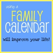 using a family calendar will improve your life