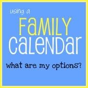 best family calendars