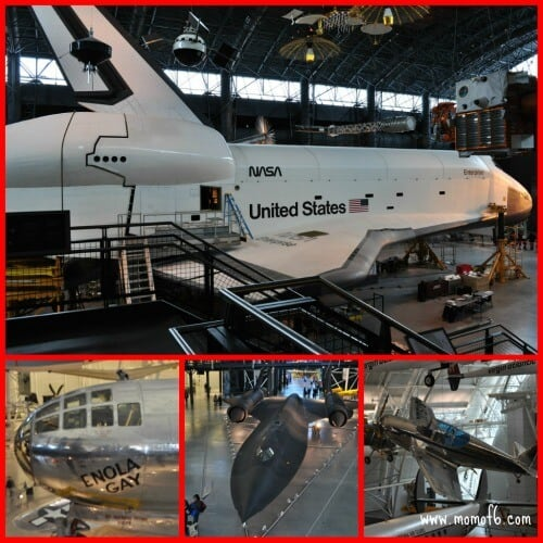 Air and Space Museum Annex Spring Break Family Vacation Idea: Washington DC with Kids
