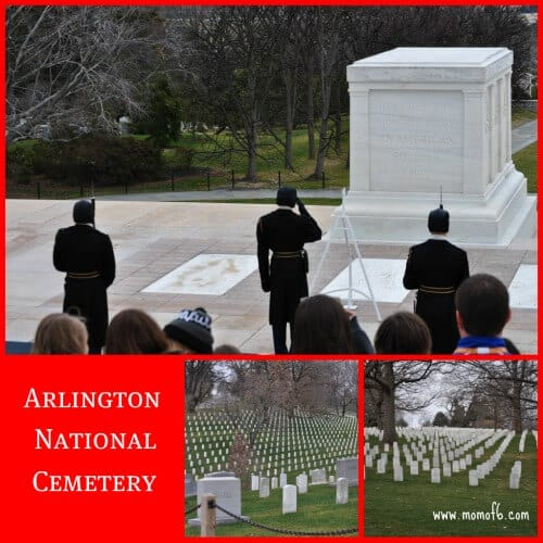 Arlington National Cemetery Spring Break Family Vacation Idea: Washington DC with Kids