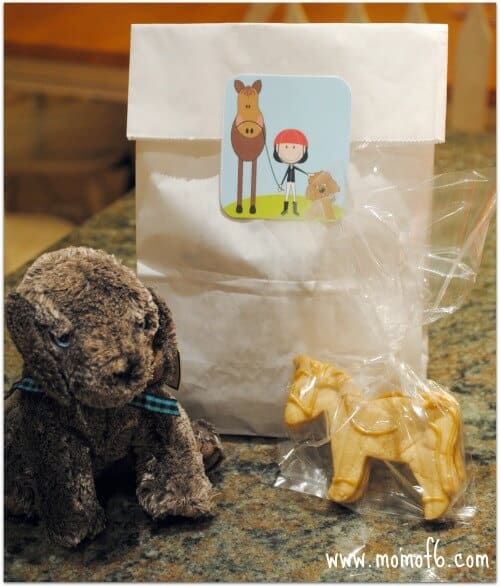 BD Party Goody Bag Content 8 Year Old Girls Birthday Party Idea: Ponies and Puppies!