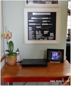 Momof6 Menu Board 247x300 Get Your Life Organized Boot Camp!