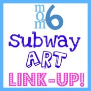 Momof6 Subway Art Link Up Badge Link Up YOUR Free July 4th Subway Art Printables