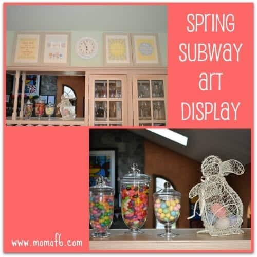 Spring Subway Art Display The 10 Best Free Easter & Spring Subway Art Printables!
