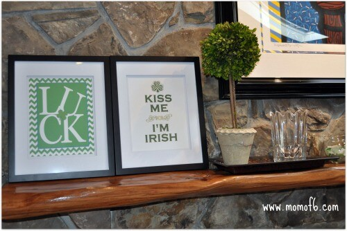 St Patricks Day Printables and Mantle F Room Left The 10 Best St Patricks Day Subway Art Printables!