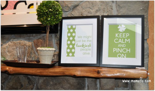St Patricks Day Printables and Mantle FR Right The 10 Best St Patricks Day Subway Art Printables!