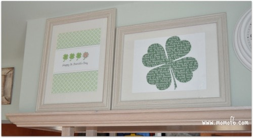 St Patricks Day Printables and Mantle Kitchen Left The 10 Best St Patricks Day Subway Art Printables!
