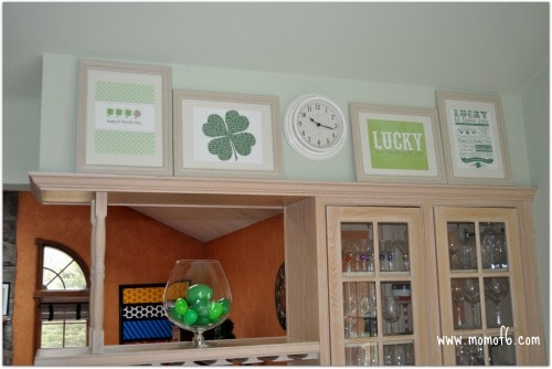 St Patricks Day Printables and Mantle Kitchen full The 10 Best St Patricks Day Subway Art Printables!