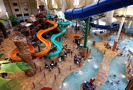 greatwolflodge450 Spring Break Family Vacation Idea: Great Wolf Lodge