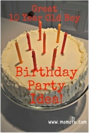 Great 10 Year Old Boy Birthday party Idea Great 10 Year Old Boys Birthday Idea: Minute to Win It Party!