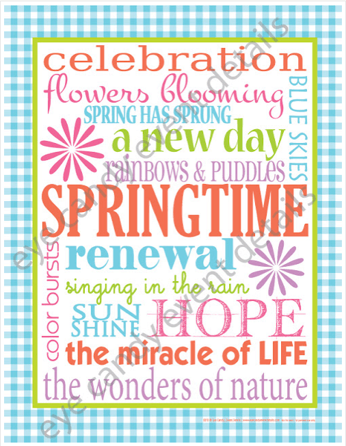 Springtime Printable Links to Love: Pull Me Out of a Funk Edition