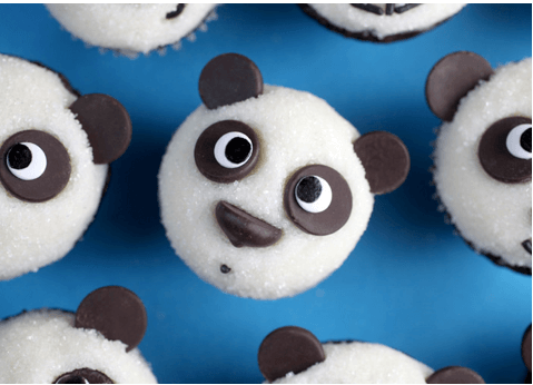 Easy Panda Cupcakes Links to Love: Cake Decorating Tips and Tricks!