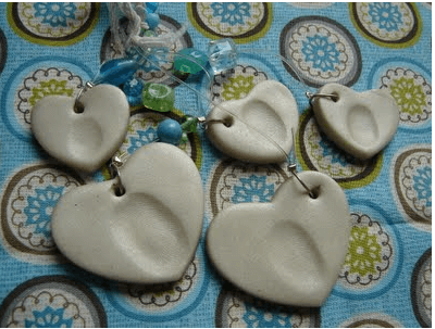 Fingerprint Pendants Links to Love: Great Ideas to Celebrate Mothers Day!