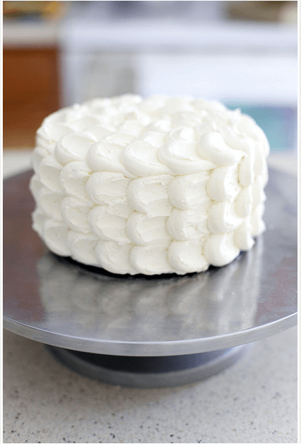 Fluffy Cloud cake Links to Love: Cake Decorating Tips and Tricks!