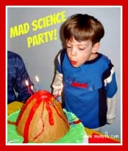 Great 5 Year Old Birthday Party Idea: A Science Party!