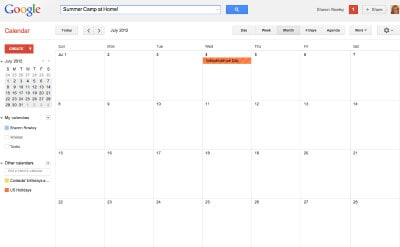 Summer Camp at home calendar Its Time to Plan for.....Summer Camp at Home!