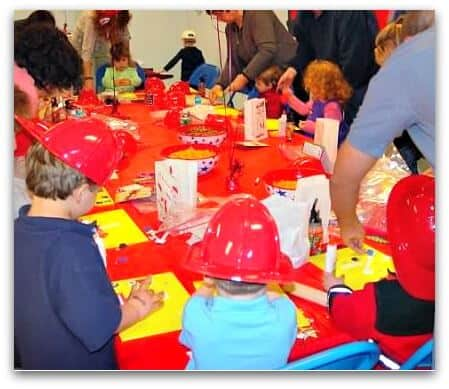 ff3 Great 3 Year Old Birthday Party Idea: A Firefighters Party!