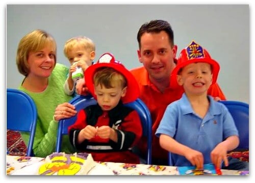 ff4 Great 3 Year Old Birthday Party Idea: A Firefighters Party!