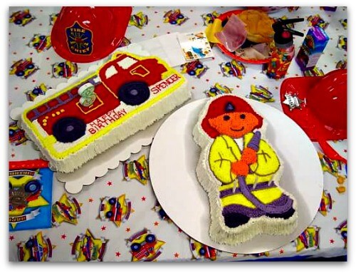 ff6 Great 3 Year Old Birthday Party Idea: A Firefighters Party!