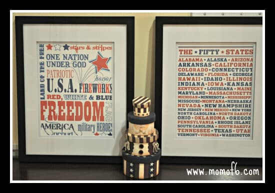 10 Best July 4th Printables 9 10 The Top 10 Free July 4th Subway Art Printables