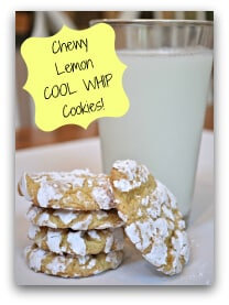 Chewy Lemon COOL WHIP Cookies