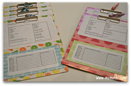Chore Chart1 Get Your Life Organized {Week 4}  Kids To Do Lists!